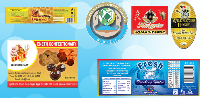 Labels Printing In Nairobi Kenya The Printing Company